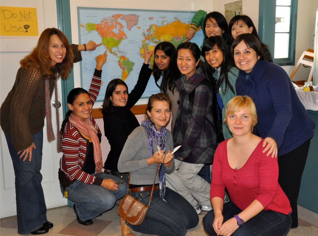 "Yvonne Lefort and her students ""Creating A Fulfilling Life in America"""